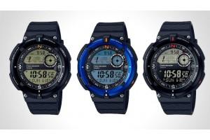 Новая серия часов SGW-600H от CASIO