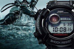 Casio G-Shock GWF-D1000 – глубоководное погружение