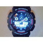 Casio G-shock GA-100-1A4ER - обзор часов