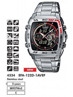 Часы Casio Edifice EFA-122D-1AVEF