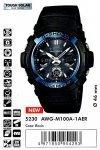 Часы Casio G-Shock AWG-M100A-1AER
