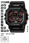 Часы Casio G-Shock GX-56-1AER