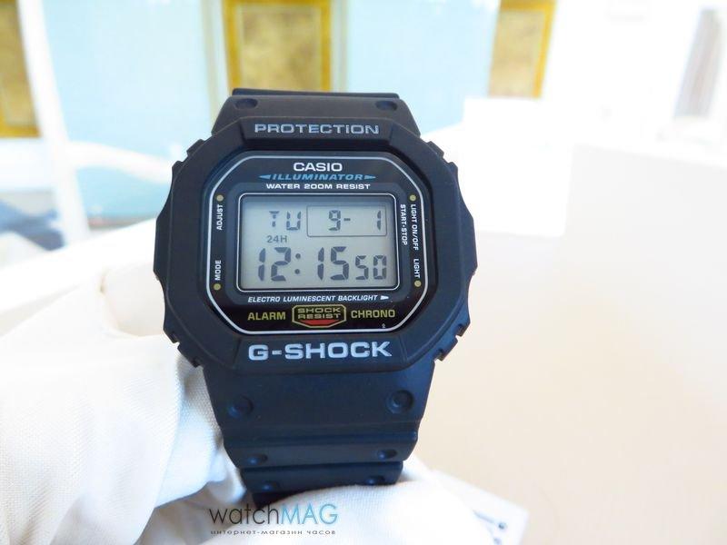 Купить часы casio g shock оригинал 5600e