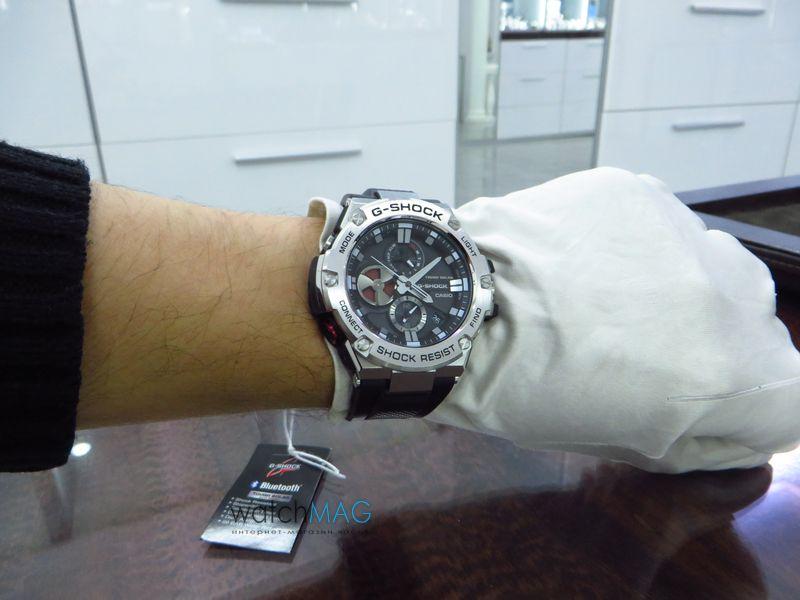 Купить часы Casio G-Shock GST-B100-1AER в Харькове