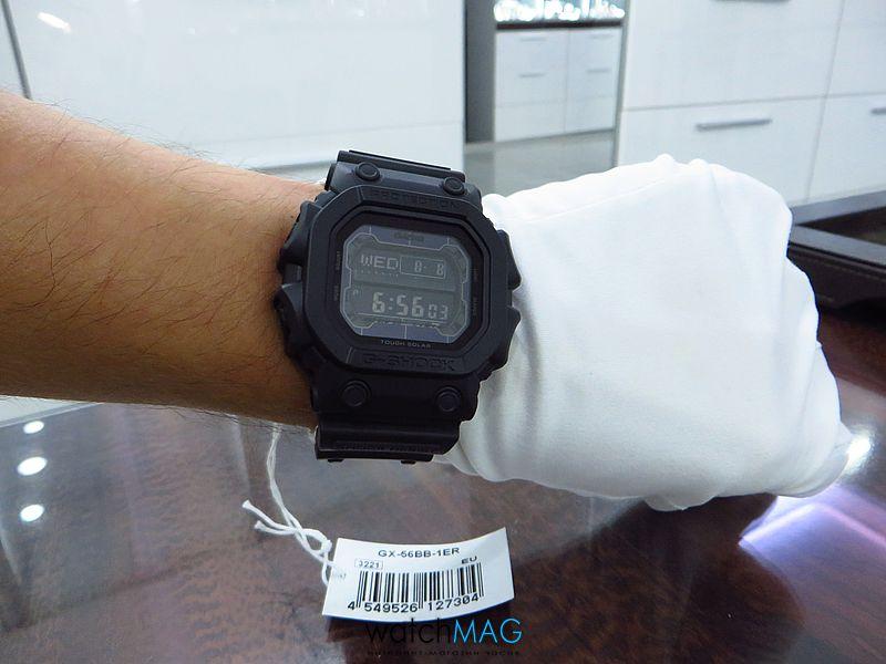 Купить часы Casio G-Shock GX-56BB-1ER в Харькове