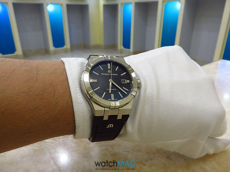 Купить часы Maurice Lacroix Aikon AI6008-SS001-330-1 в Харькове