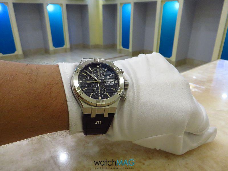 Купить часы Maurice Lacroix Aikon AI6038-SS001-330-1 в Харькове