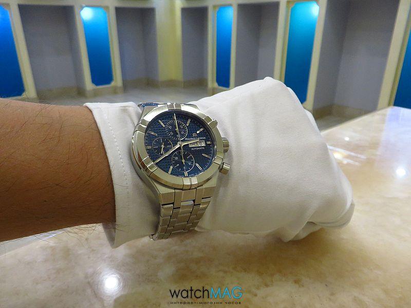 Купить часы Maurice Lacroix Aikon AI6038-SS002-430-1 в Харькове